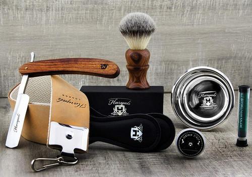 Vintage Style Mens Shaving Set Grooming Kit