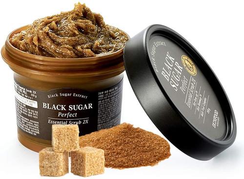 SKINFOOD Black Sugar Perfect Essential Scrub-2X 210g
