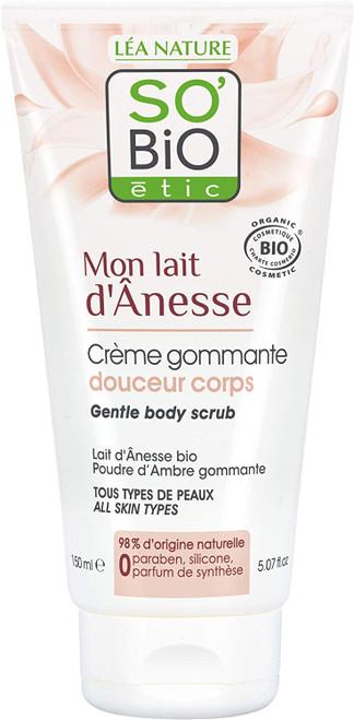 SOBiO etic Cosmebio Mon Lait D Anesse Gentle Body Scrub-150 ml