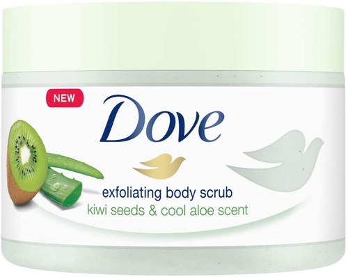 Dove Body Scrub with Kiwi and Aloe-4 x 225 ml
