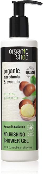 Organic Shop Kenyan Macadamia Nourishing Shower Gel-280 ml