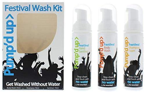 Pump d Up Festival Wash Kit