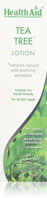 HealthAid Tea Tree Hand and Body Lotion-250ml
