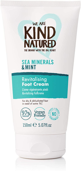 Kind Natured Sea Minerals and Mint Revitalising Foot Cream-170g