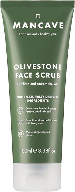 ManCave Olivestone Face Scrub-100 ml