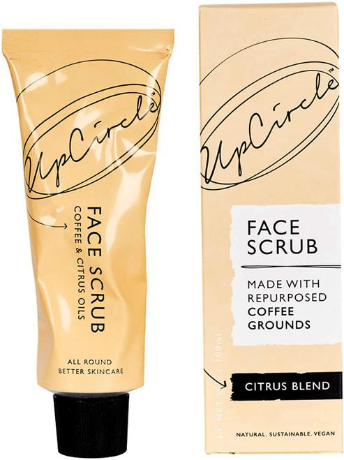UPCIRCLE Coffee Face Scrub Vegan Exfoliator-Normal Skin