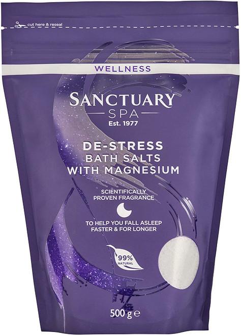 Sanctuary Spa De-Stress Magnesium Relaxing Sleep Bath Salts - 500 g