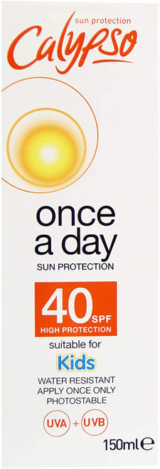 Calypso Once a Day Sun Protection Non greasy Lotion - SPF 40