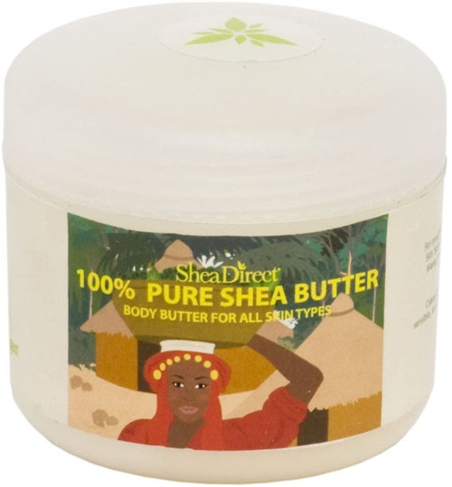 Organic Unrefined Shea Butter for Sensitive and Dry Skin-100g