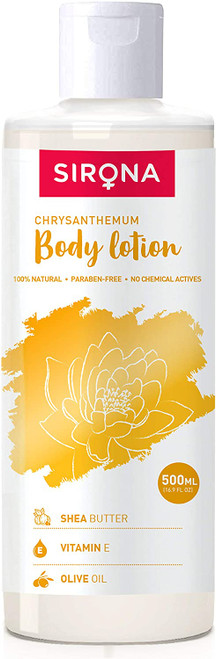 Sirona Natural Soothing Chrysanthemum Body Lotion-16.9 Ounces