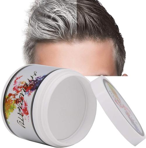 DIY Washable Hair Dye Non Permanent Hair Paint Wax-White