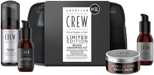 American Crew XMAS Beard and Skincare WASHBAG