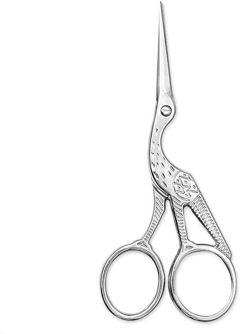 BIHRTC 4 And Half Inch Silver Stainless Steel Classic Scissor-Silver