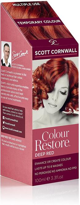 Scott Cornwall Colour Restore Deep Red Temporary Toner Dye