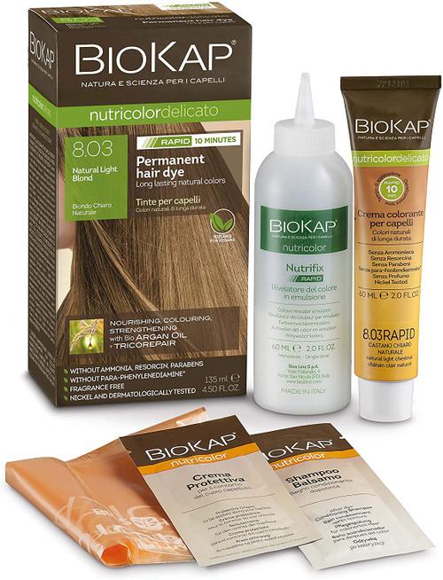 BioKap Natural Light Blond Rapid Hair Dye