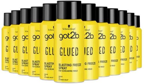 Schwarzkopf got2b Glued Hairspray-12x100ml