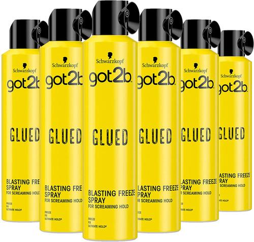Schwarzkopf got2b Glued Hairspray-6x500ml