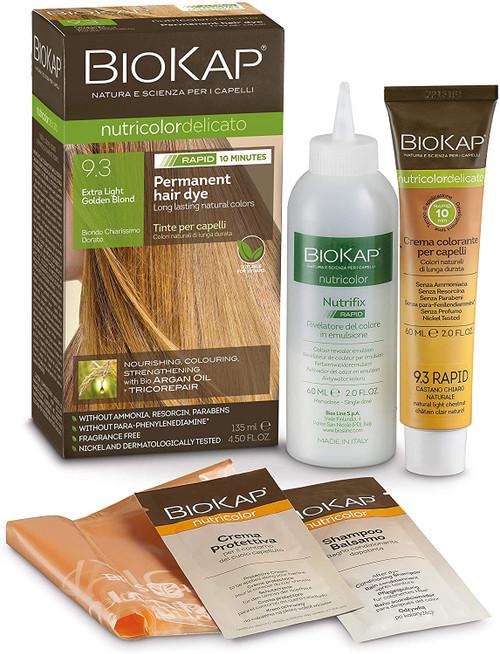 BioKap Extra Light Golden Blond Rapid Hair Dye