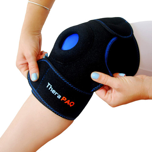 TheraPAQ Persistent Pain Relief Hot and Cold Knee Support Brace