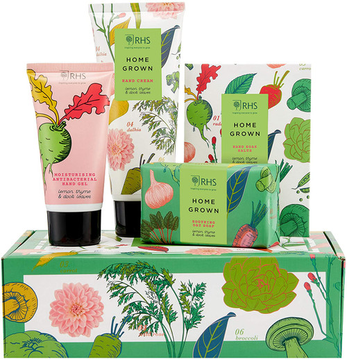 RHS Beauty Home Grown Care Gift Set