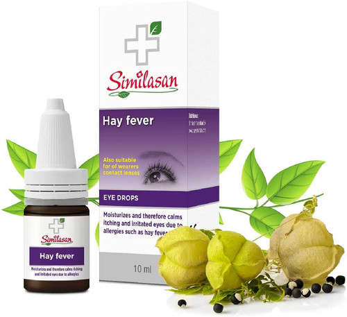 Similasan Hayfever Eye Soothing Itchy and Allergic Eyes Drops - 10 ml