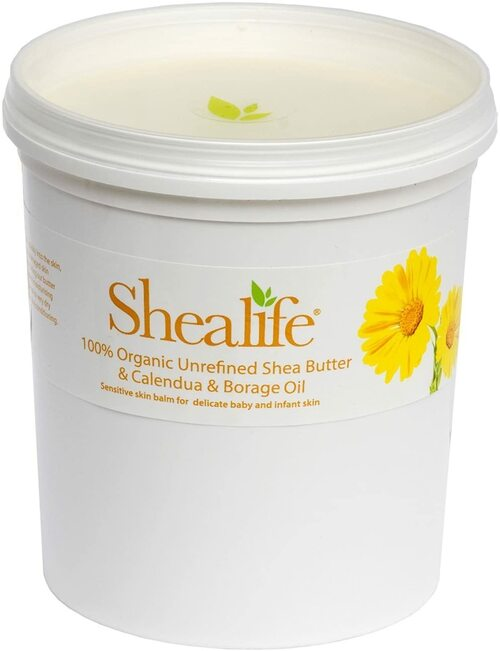 Organic Unrefined Shea Butter Calendula and Borage Oil