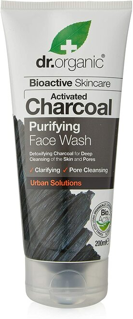 DR ORGANIC Charcoal Face Wash-200ml