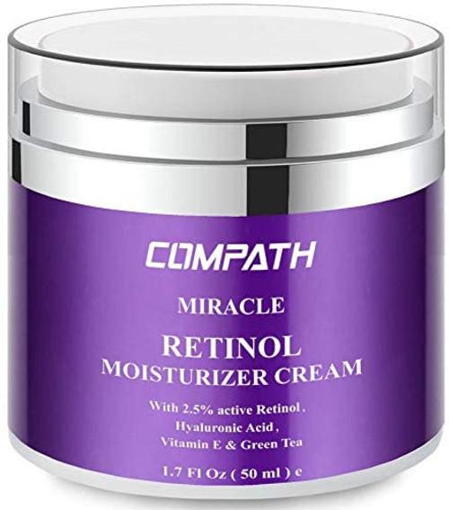 Retinol Moisturizer Cream COMPATH Anti aging