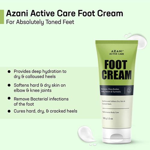 Azani Active Care Foot Care Cream-200g