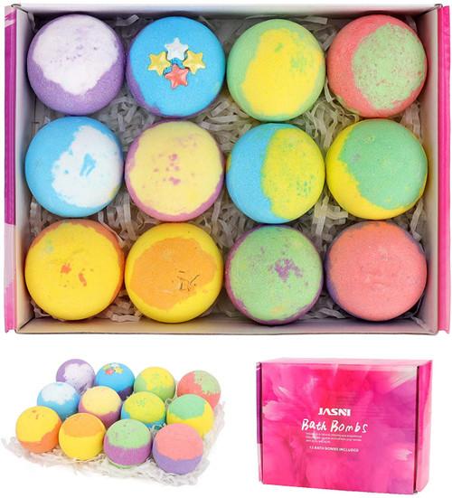 Bath Bombs Gift Set Nature Bath Bomb Kit-12pcs