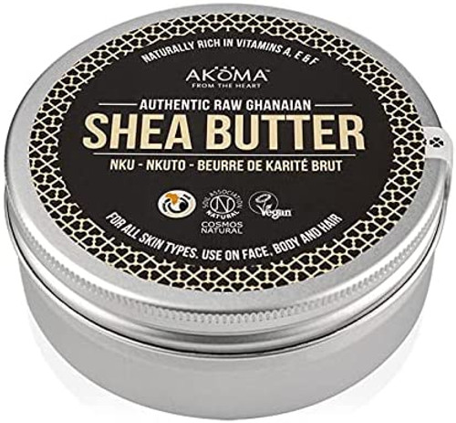 AKOMA Raw Shea Butter Cosmos Natural Certified-150ml