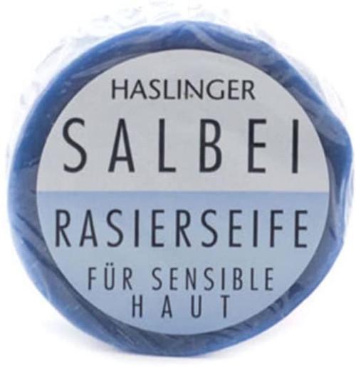 Haslinger Shaving Soap-Salvia