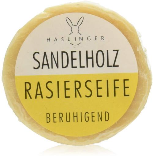 Haslinger Shaving Soap-Sandalwood