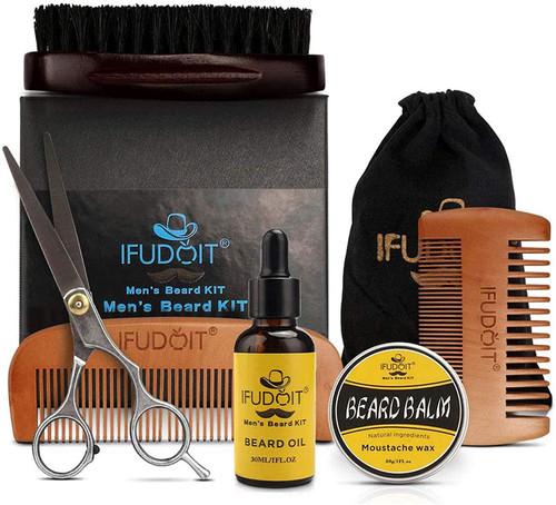 Beard Grooming Care Kit For Men-6 In 1