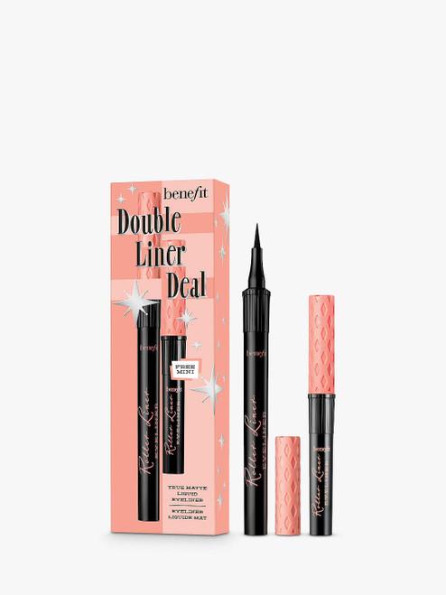 Benefit Double Liner Deal Eyeliner Set Roller Liner Liquid