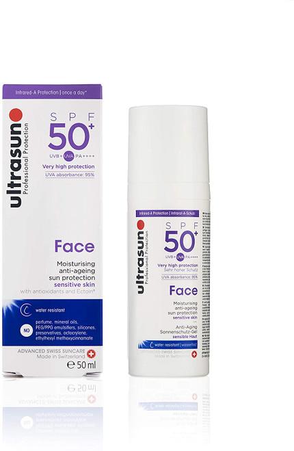 ultrasun Face Anti Ageing Sun Protection SPF50 Plus-50 ml