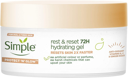 Simple Protect N Glow Rest and Reset 72 Hour Hydrating Gel-50 ml