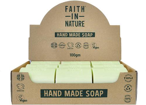 Faith in Nature Natural Hand Soap Bar-Aloe Vera