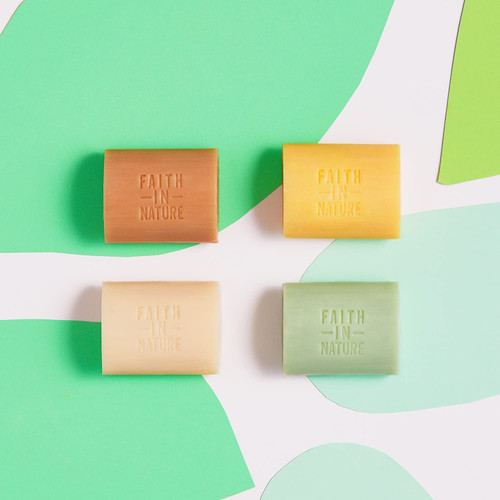 Faith in Nature Natural Hand Soap Bar-Coconut