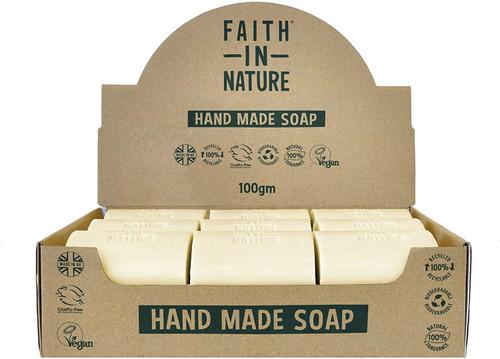 Faith in Nature Natural Hand Soap Bar- Grapefruit