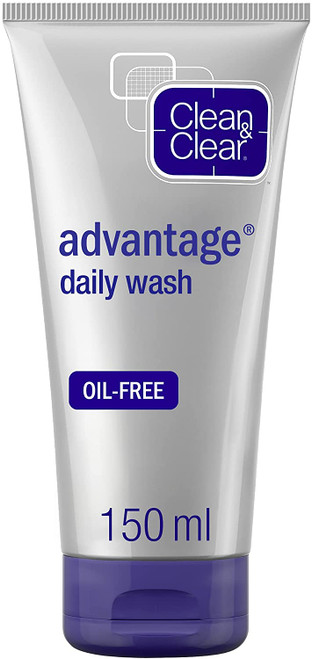 Clean and Clear Advantage Fast Action Daily Wash