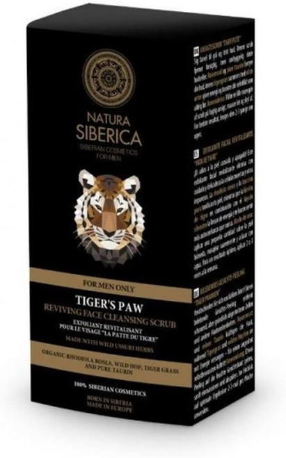 Natura Siberica Tigers Paw Reviving Face Cleansing Scrub