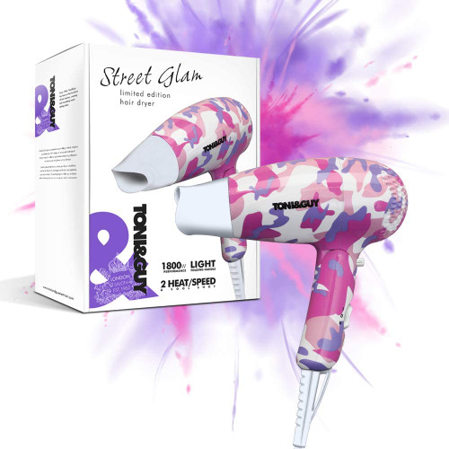 TONI and GUY Street Glam Silky Smooth Styles Unique Hair Dryer