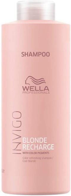 Wella Professionals Blonde Recharge Shampoo-1000ml