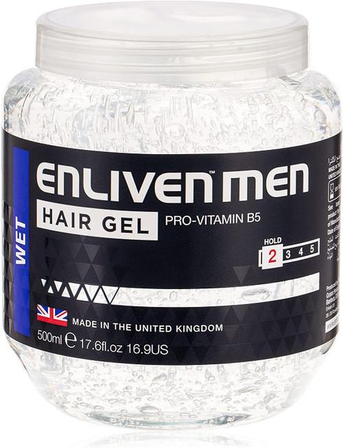 Enliven Wet Look Clear Hair Gel-500 ml