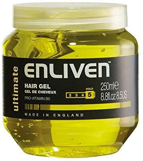 Enliven Ultimate Yellow Hair Gel-250 ml