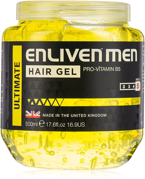 Enliven Ultimate Yellow Hair Gel-500ml