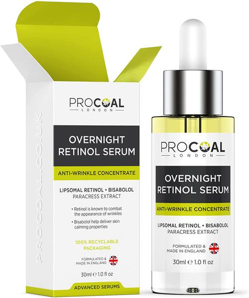 Overnight Retinol Serum High Strength for Face