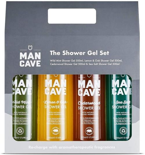 ManCave Shower Fragrance Gift Set