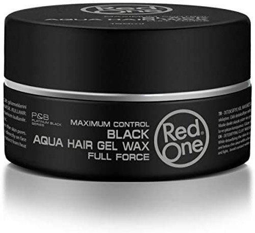 Red One Hair Wax 150 ml-Black